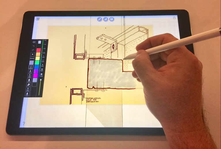 Paperless architect ipad pro in the studio bvn - Application architecture ipad ...