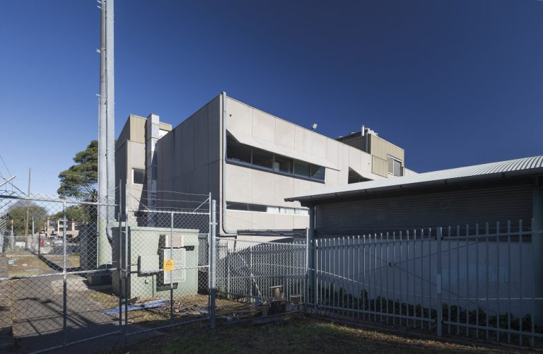 Our Lady of the Assumption Catholic Primary School reuses a 1970's brutalist former Telstra training centre