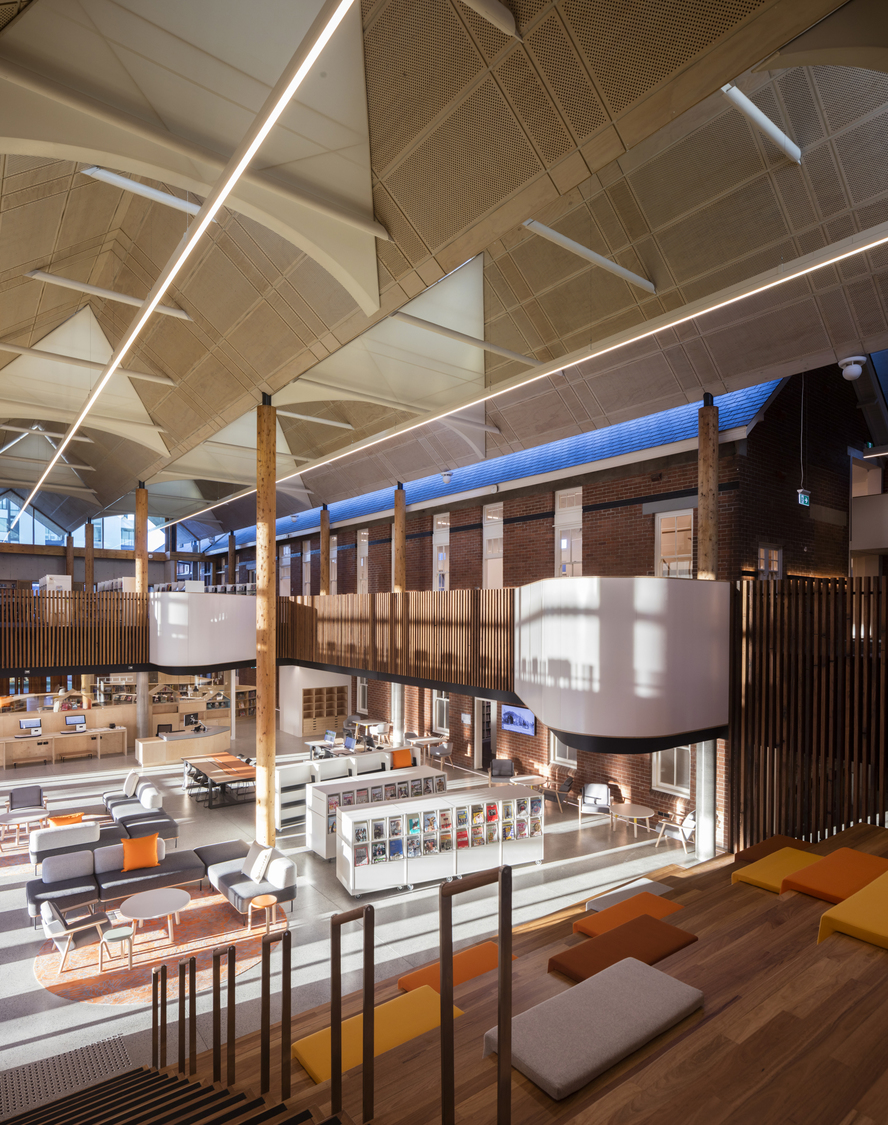 Marrickville Library by BVN